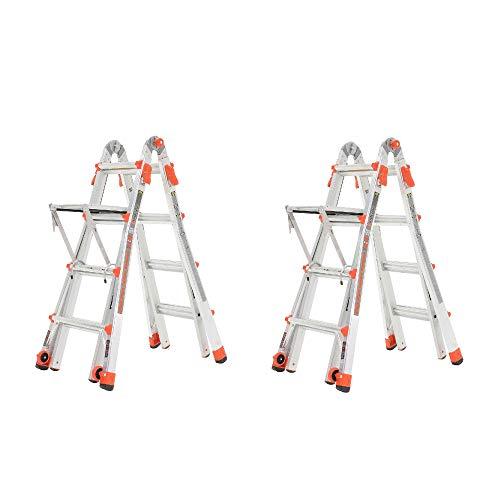 Little-Giant-Velocity-17-Aluminum-Adjustable-Folding-Ladder-Platform-2-Pack