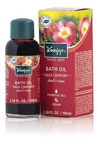 Kneipp Devil's Claw Herbal Bath Oil for Back Comfort, 3.38 Fl - Comfort Soak Muscle