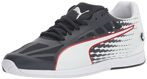 Puma Mens Bmw Ms Evospeed Walking Shoe Team Blauw-puma Wit-hoog Risico Rood
