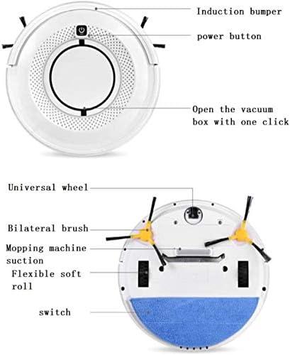 Ménage intelligent de balayage et Mopping Balayer Robot HRTT