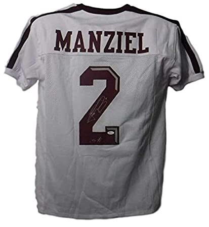Image Unavailable. Image not available for. Color  Johnny Manziel  Autographed Jersey - White XL HT 13019 - JSA Certified - Autographed  College Jerseys 0e456a570