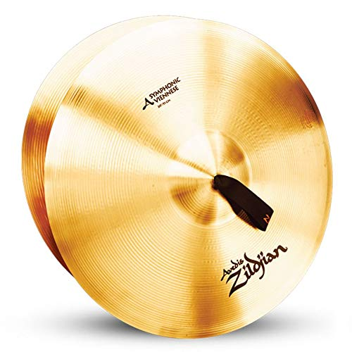 Zildjian A0448 18'' Sym-Viennese Tone One Only Cymbal with Medium Bell Size and Mid Pitch by Avedis Zildjian Company