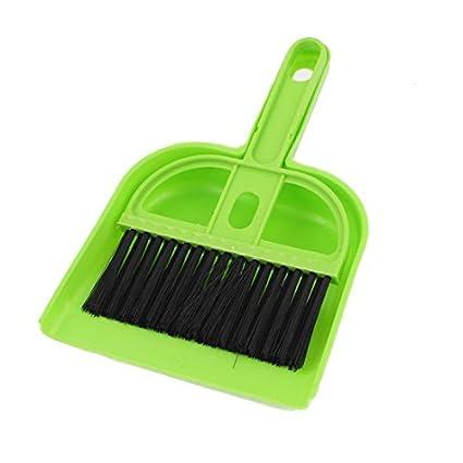 Amazon.com: Teclado de computador de plástico PC escova de limpeza Dustpan Set Preto Verde: Electronics