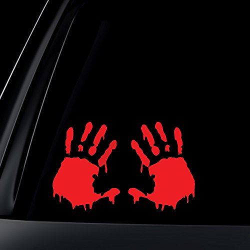 zombie hand decal - 5