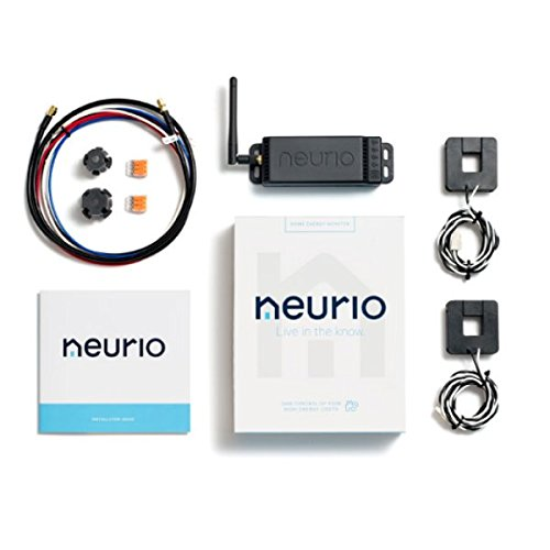 NEURIO, W1-HEM, SPLIT PHASE, METER/DATA LOGGER WITH 2X CTS AND WIFI by NEURIO