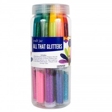 All That Glitters Assorted Colors Crafts Jar