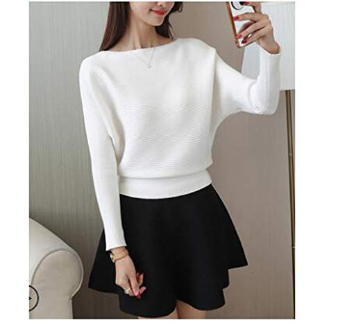 2018 Autumn Loose Tops+Skirt Two-Piece Fashion Sweater for sale  Delivered anywhere in USA