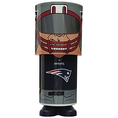 NFL New England Patriots Unisex Desk Lamp, One Size