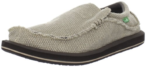 Sanuk Men's Chiba Slip On,Tan on Tan,11 M US