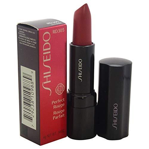 Shiseido Perfect Rouge Lipstick for Women, No. RD305 Salon,0.14 oz