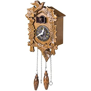 Motorcycle themed collectible wooden cuckoo clock time of freedom by the bradford - Motorcycle cuckoo clock ...