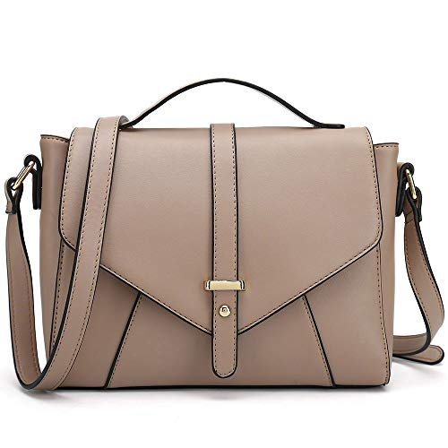 Montaigne Bag - Ladies Designer Purses Cross Body Handbags Trendy Bags for Women Shoulder Bags (Khaki)