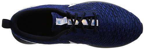 Racer Flyknit Shoes White Dark Black blue Obsidian Berry Nm Men Gymnastics Roshe s Nike Iqw1FnRYx