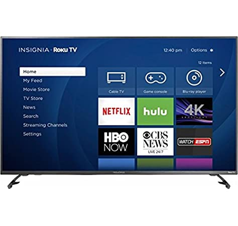 Amazon Com Insignia 43 Led 2160p Smart 4k Ultra Hd Roku Tv 2 3 Day Shipping Electronics
