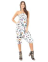B07D1D3SYM Village Venture- 3 EN 1 -Jumper -Pantalón -Blusa Estampado de Mariposas -Unitalla-2924