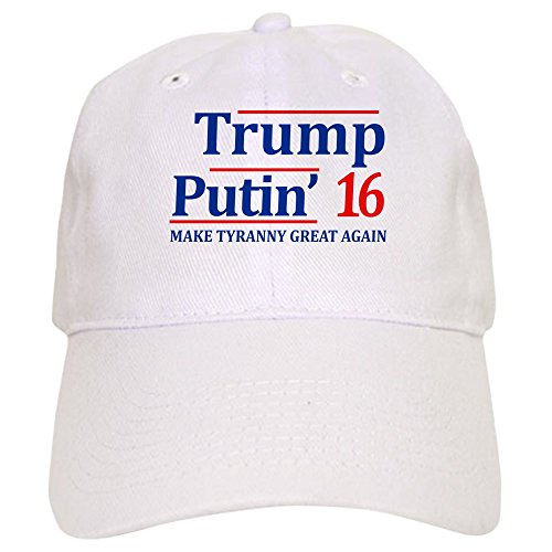 CafePress - Trump - Putin 2016 - Baseball Cap with Adjustable Closure, Unique Printed Baseball Hat