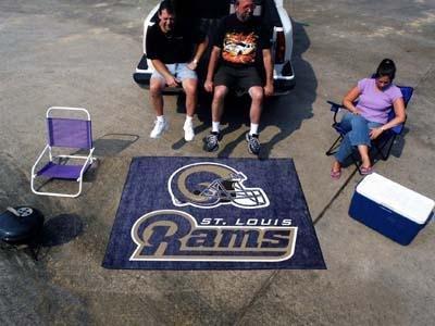 Louis Rams Nfl Rug - NFL - St Louis Rams Tailgater Rug