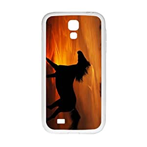 ZXCV Glam Sunset Horse Custom Protective Hard Phone Cae For Samsung Galaxy S 4
