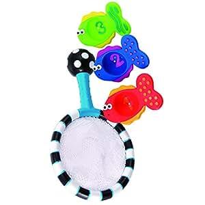 Sassy Developmental Bath Toy, Catch and Count Net