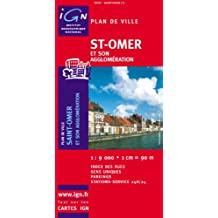 IGN PLAN : SAINT OMER NO.72350