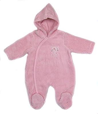 8630227e05c58 Baby Fleece All in one Lightweight Sleepwear NB 0-3m 3-6m (Side Poppers)   Amazon.co.uk  Clothing