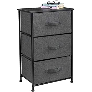 Amazon Com Sorbus Nightstand With 3 Drawers Bedside