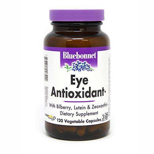 BlueBonnet Eye Antioxidant with Zeaxanthin Formula Vegetarian Capsules, 120 vcaps ()