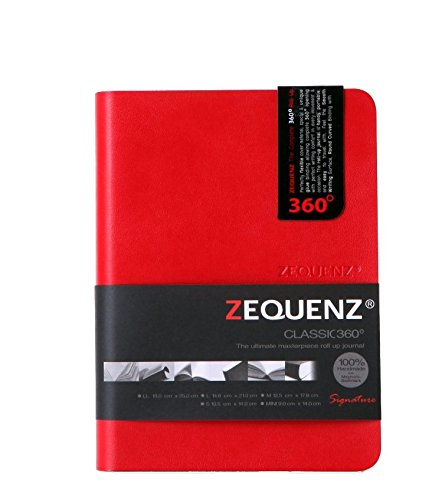 Zequenz Classic 360 Soft Cover Notebook, Soft Bound Journ...