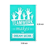 YeulionCraft DIY Self-Adhesive Silk Screen Printing Stencil, Phrase Sign Pattern for DIY Home Decor, T-Shirt, Pillow Fabric, Painting on Wood, Reusable Stencils, Palm