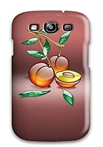 S3 Scratch-proof Protection Case Cover For Galaxy/ Hot Aqua Peach Phone Case