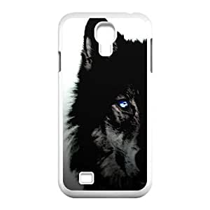 DDOUGS Black Wolves Best Cell Phone Case for SamSung Galaxy S4 I9500, Custom Black Wolves Case