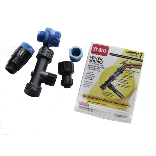 Toro 53756 Blue Stripe Drip Water Source Installation Kit