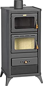 Estufa de leña para horno, estufa de cocina, chimenea de 12 kW ...