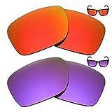 MRY 2Pares polarizadas Lentes de Repuesto para Oakley Holbrook–Gafas de Sol, Color Rich Opción Colores