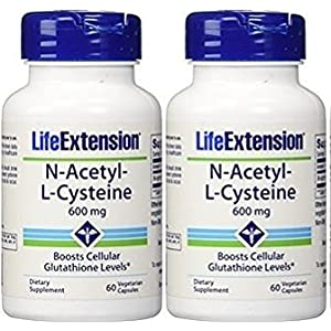 Life Extension N Acetyl L Cysteine 600mg