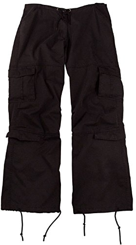 (Bellawjace Clothing Women's & Girls Vintage Paratrooper Tactical BDU Fatigue Pants 8 Colors)