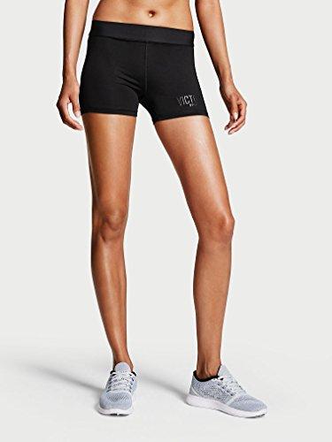 算術荷物うそつき(ヴィクトリアシークレット) スポーツ Victoria's Secret VSX SPORT #XS ジム ヨガ ストレッチ ホット ショート パンツ スパッツ ブラック 23812NaM [並行輸入品]