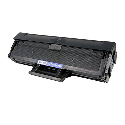 EBY 1 pack Compatible Toner Cartridge Replacement for Samsung 111S 111L MLT-D111S MLT-D111L Black Toner Compatible With Xpress SL-M2020W Xpress SL-M2070W Printer
