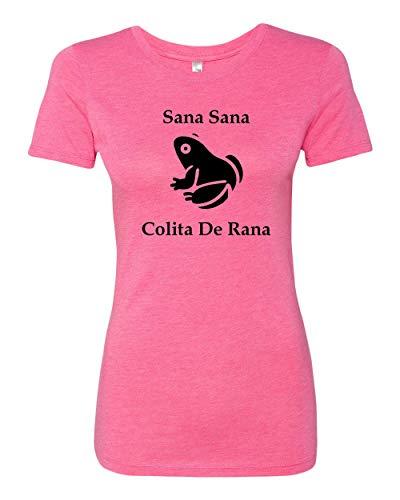Sana Sana Colita de Rana Funny Spanish T-shirt ()