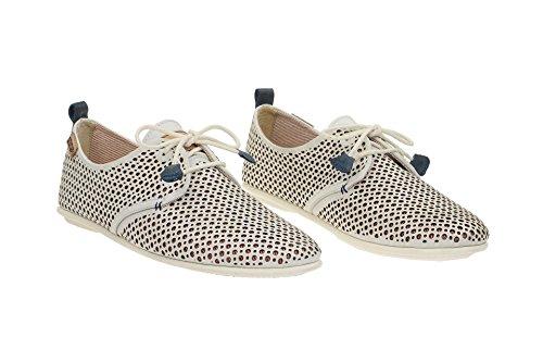 Pikolinos Calabria-917-4549- Zapatos de cordones para mujer blanco