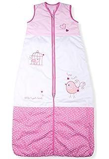 Sacos de Dormir para Bebé, Tweet Pequeño Pájaro, Kiddy Kaboosh Varios Tamaños, Peso