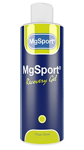 High Absorption Transdermal Magnesium Gel for Leg Cramps - 7 oz. Topical Muscle Recovery from The Dead Sea for Restless Leg Syndrome - Less Sting Than Magnesium Oil