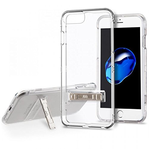 iPhone 6/6s/7/8 Case, Mybat Dual Layer [Shock Absorbing] Protection Hybrid Stand Crystal PC/Silicone Case Cover For Apple iPhone 6/6s/7/8, Clear from M.A.C