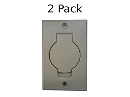Central Vacuum Wall Plate Cool Amazon BIN 60 Central Vacuum Wall Inlet Cover IVORY Round Door