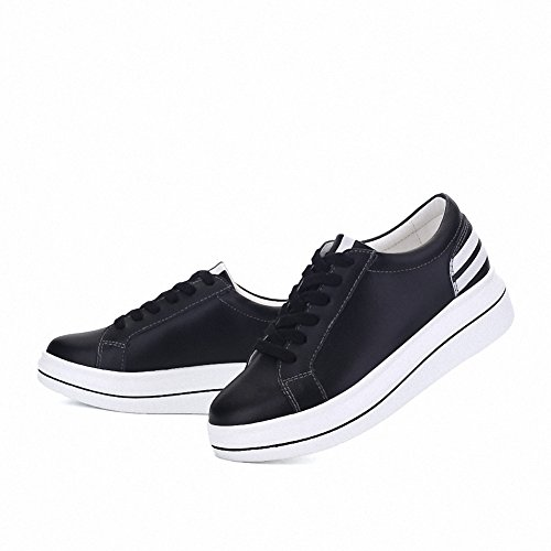 Sneakers Womens up Shoes Ben Walking Lace Casual Shoes Cute Black Sports Traveling Running Sport Fashion Girls 6wq5O8w