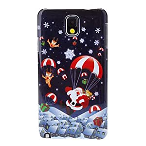 HJZ Santa Claus in the Air Back Case for Samsung Galaxy Note 3