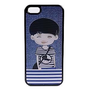 WQQ Funda de Cuerpo Entero/Funda Trasera/Otro - Gráficas/Diseño Especial/Innovador - para iPhone 5S Plástico )