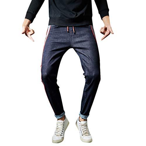 Avec Jean Xzdcdj Pantalon Extensible Sarouel Homme Bleu Pour Lâche En ZgwpPqwS