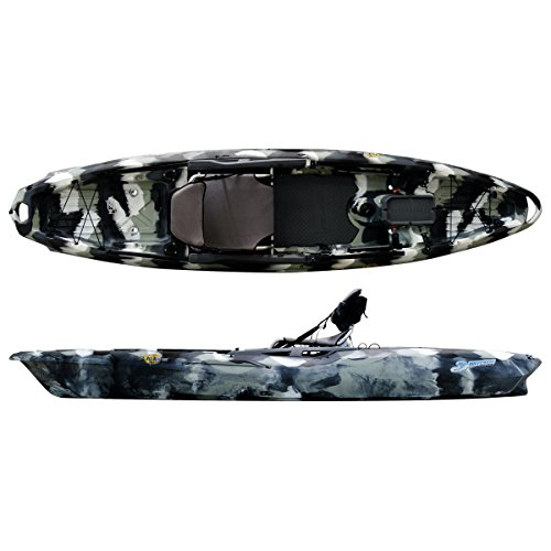 3 Waters Big Fish 120 Kayak – Urban Camo For Sale