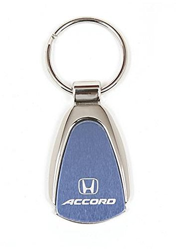 Blue Teardrop Keychain /& Keyring with Honda Accord Logo